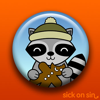 ** LIMITED EDITION ** Holiday Party Animal: Raccoon - Accessory