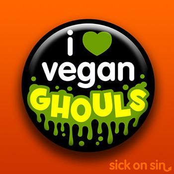 I Love Vegan Ghouls - Accessory