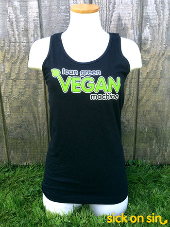 Lean Green Vegan Machine - Adult Tank