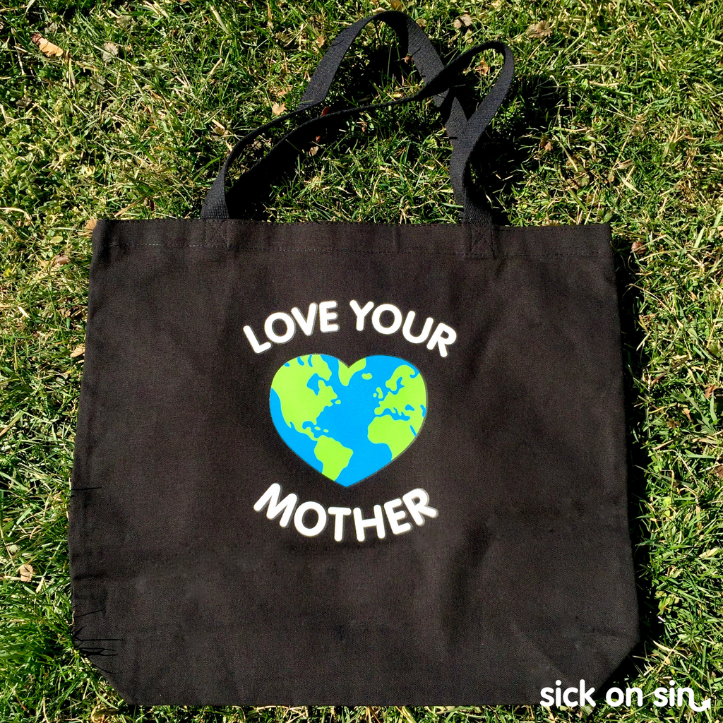 Love Your Mother - Tote Bag (Extra Large)