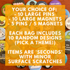 Mystery Bags - Button / Magnet Seconds