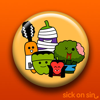 Spooky Fruit and Veg Gang - Accessory