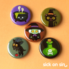 Witch Life - Button / Magnet Set
