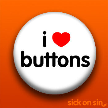 I Love Buttons - Accessory