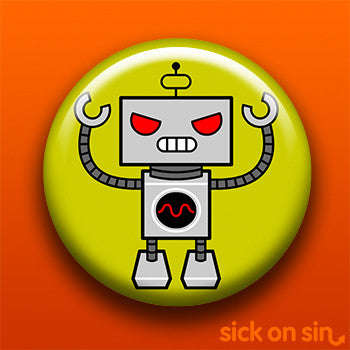 Evil Robot (Yellow) - Accessory