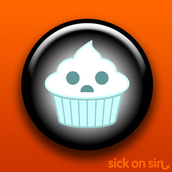 Ghost Cupcake - Accessory