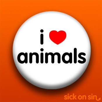 I Love Animals - Accessory