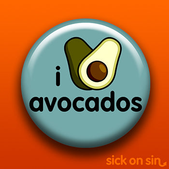 I Love Avocados - Accessory