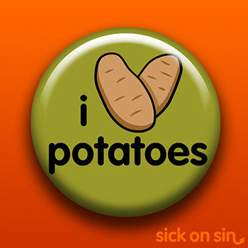I Love Potatoes - Accessory