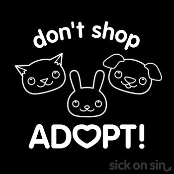 Don't Shop Adopt - Kid Tee