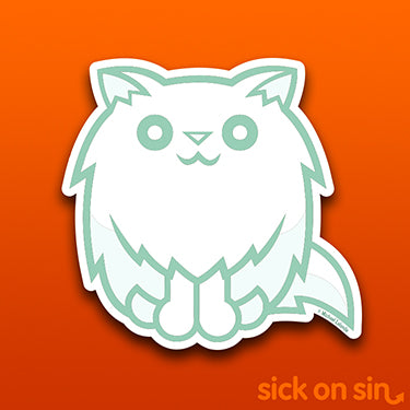 Ghost Cat - Vinyl Sticker