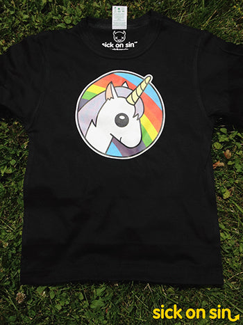 Rainbow Unicorn - Kid / Infant Tee  ** ALMOST GONE! **
