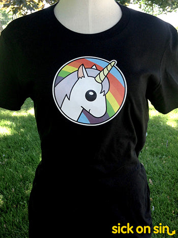 Rainbow Unicorn - Men / Women Tee   ** ALMOST GONE! **