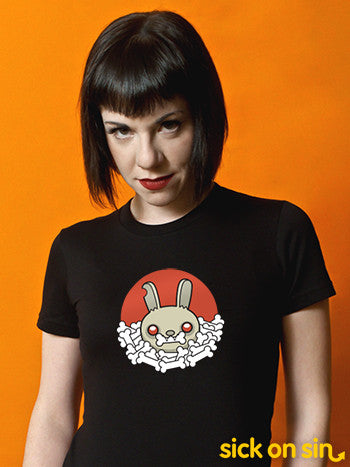 Carnage Bunny - Men / Women Tee (**ALMOST GONE!**)