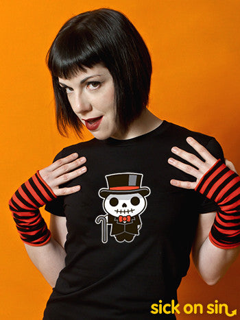 Dapper Skeleton - Men / Women Tee