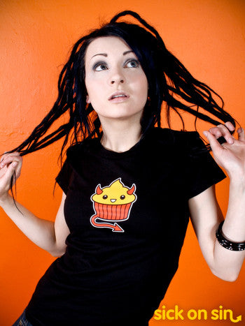 Devil Cupcake - Men / Women Tee