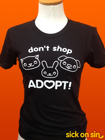 Don't Shop Adopt - Men / Women Tee