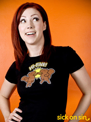Hi Five Squirrels - Men / Women Tee