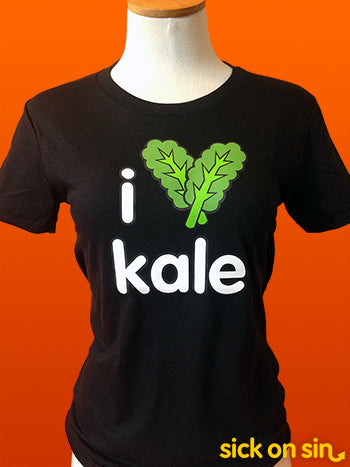 I Love Kale - Men / Women Tee