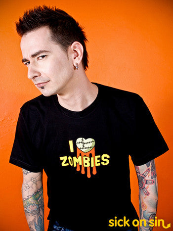 I Love Zombies - Men / Women Tee