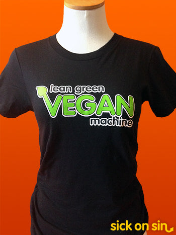 Lean Green Vegan Machine - Men / Women Tee