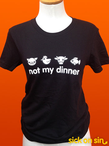 Not My Dinner: Four Animals - Men / Women Tee