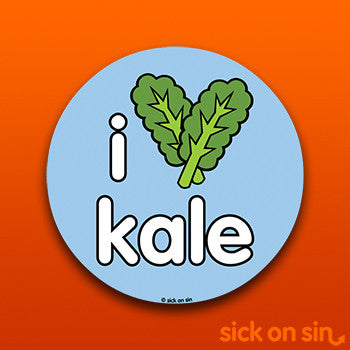 I Love Kale - Vinyl Sticker