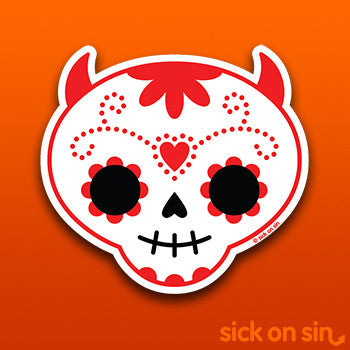 Sugar Skull - Vinyl Sticker