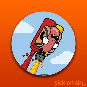 Super Dog - Vinyl Sticker