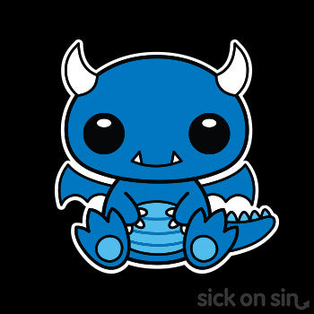 Blue Dragon - Kid / Infant Tee (**ALMOST GONE!**)