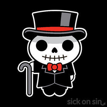 Dapper Skeleton - Kid / Infant Tee
