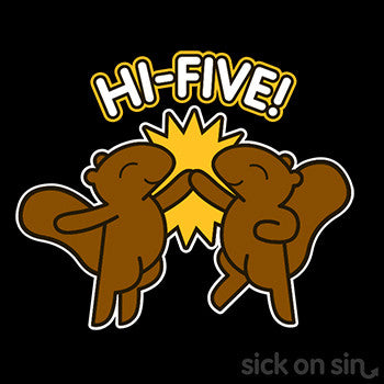 Hi Five Squirrels - Kid / Infant Tee