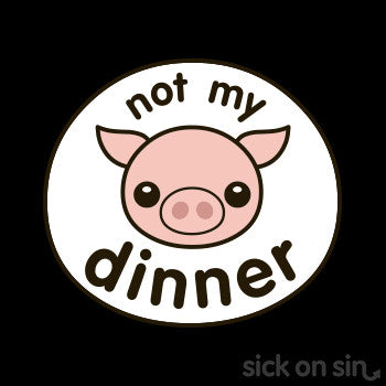 Not My Dinner: Pig - Kid / Infant Tee