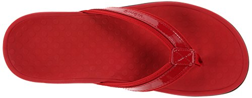 Vionic with Orthaheel Technology Women's Tide II Sandal Red