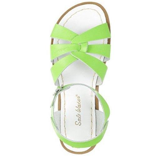 Salt Water Sandals by Hoy Shoe Original Sandal (Toddler/Little Kid/Big Kid/Women's) Lime Green US Women