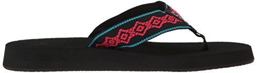 Reef Women's Sandy Sandal Black/Pink