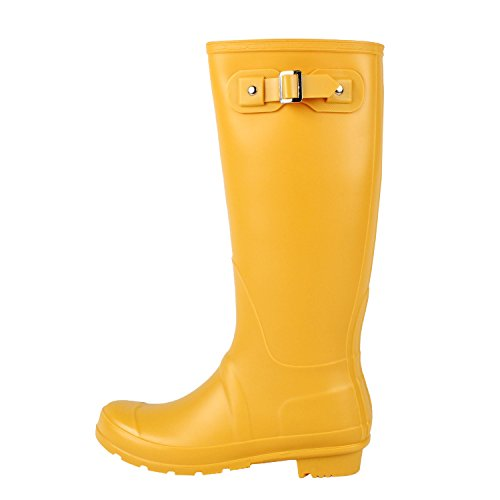 West Blvd Seattlev2.0 Rainboot Boots Yellow Rubber
