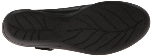 Mephisto Women's Odalys Mary Jane Flat,Black Steve