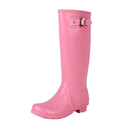 Guilty Heart West Blvd Seattlev2.0 Rainboot Boots Pink Rubber