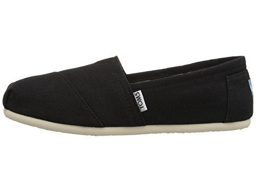 TOMS Women's Classic Canvas Slip-On Black
