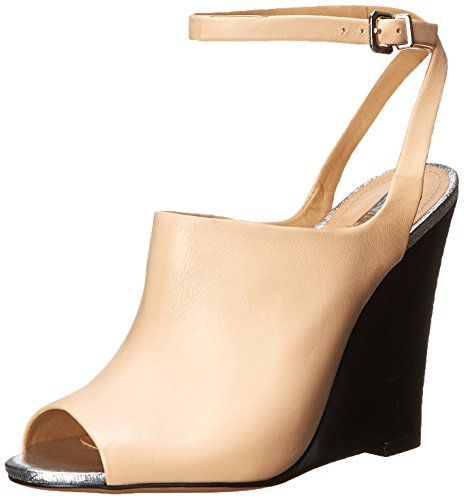 Schutz Women's Clauvania Wedge Sandal Beach Sand