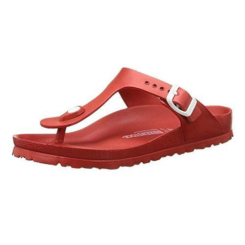 Birkenstock Women's Gizeh Red EVA Sandals
