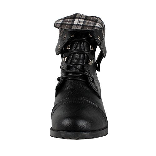 Guilty Heart Womens Lagos Combat Boots ( Previously West Blvd)
