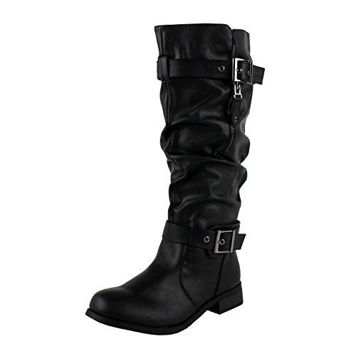 Guilty Heart Madras Riding Slouch Boots (Previously Westblvd)