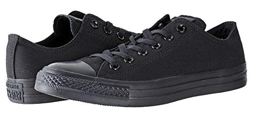 Converse Unisex Chuck Taylor All Star Low Top Black/Black Sneakers US Women