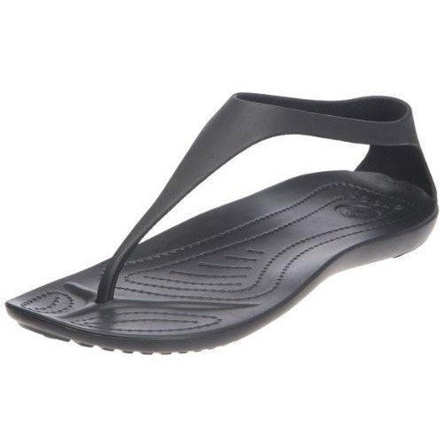 Crocs Women's Sexi Flip Black/Black