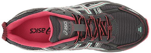 ASICS Women's Gel-Venture 5 Trail Runner, Carbon/Diva Pink/Bay
