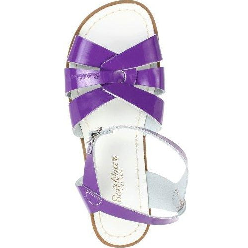 Salt-Water Style 800 Original Sandal Shiny Purple US Women