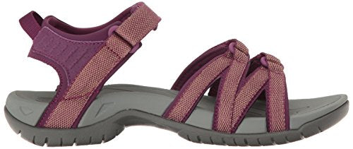 Teva Women's W Tirra Sandal Zaca Dark Purple Gold
