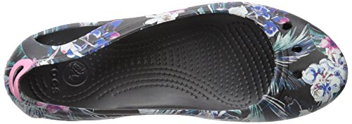 Crocs Women's Kadee Graphic W Ballet Flat Tropical